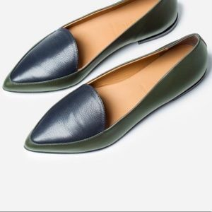 NEW Everlane Modern Point Loafer Flats Size 11